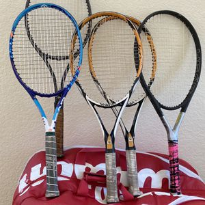 Tennis package bundle Rackets String for Sale in Highland, CA