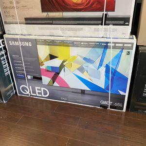 SAMSUNG QLED 65 INCH Q80T Q80 Q8 FULL ARRAY SMART 4K TVS GAMING TV HDMI 2.1 for Sale in Glendale, CA