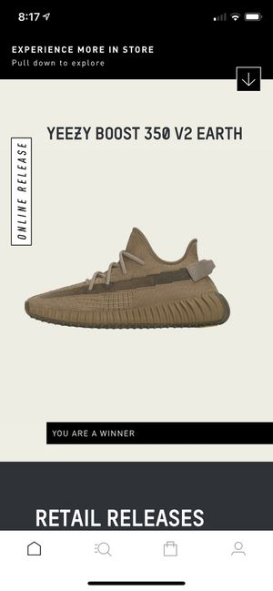 Adidas Yeezy Boost 350 V2 Earth size 9.5 for Sale in San Jose, CA