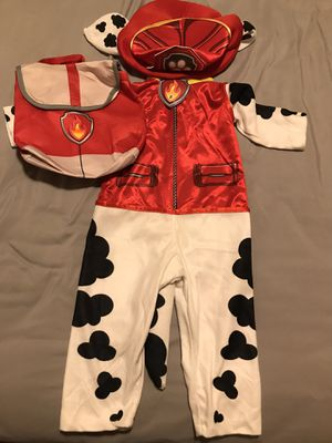 Toddler Paw Patrol Marshall Costume (2T-3T) for Sale in Draper, UT
