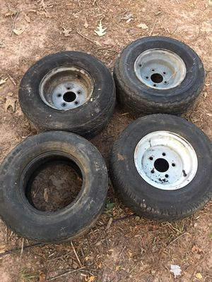 Pontoon tires & wheels for Sale in Spring, TX