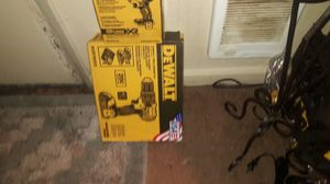 DeWalt brushless XR drill driver kit 2 batteries and charger $130 for Sale in Auburn, WA