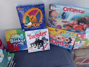 Kids board games for Sale in West Sacramento, CA
