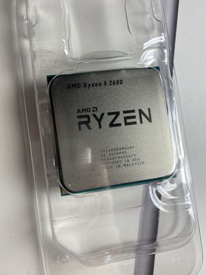 AMD Ryzen 5 2600, New never used for Sale in Federal Way, WA