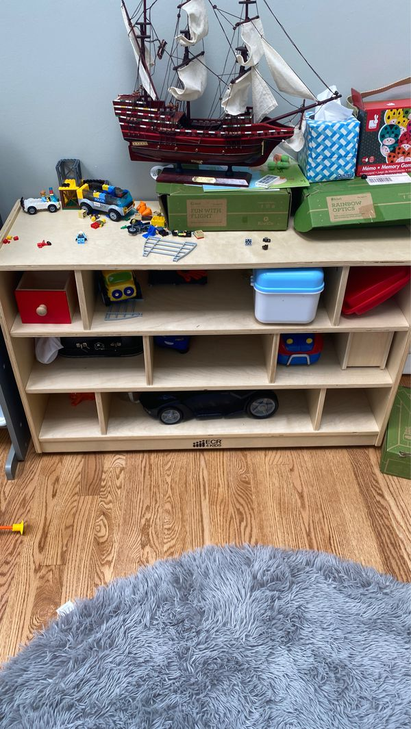 Kids storage shelf or a toy organizer