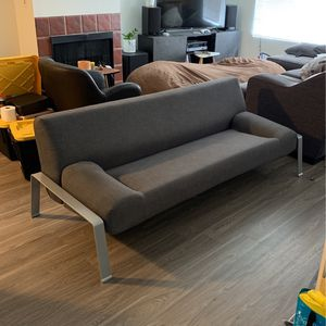 Modern Futon sofa couch for Sale in Los Angeles, CA
