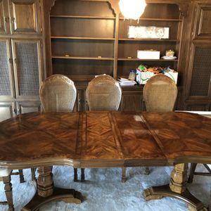 Solid Wood Dining Table for Sale in Fresno, CA