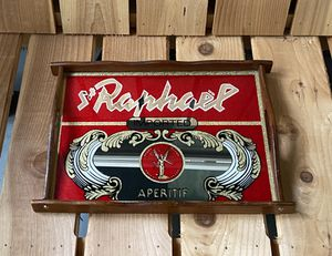 St Raphael imported aperitif mirror tray. for Sale in Tacoma, WA