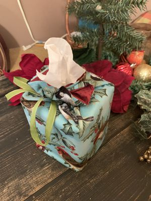 Fabric Tissue Box for Sale in Bellevue, MI