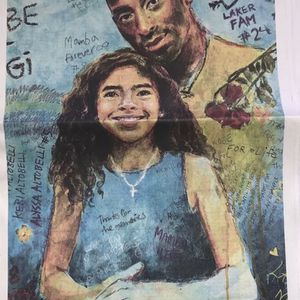 L.A. TIMES NEWSPAPER JAN 24 2021 KOBE BRYANT LEGENDS NEVER DIE with Gianna for Sale in Long Beach, CA