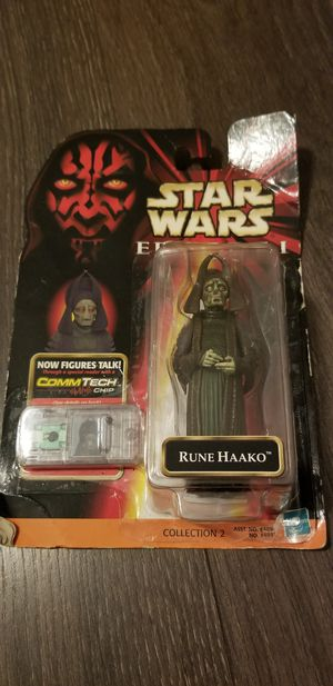 Rune Haako Starwars collectible toy for Sale in Orlando, FL