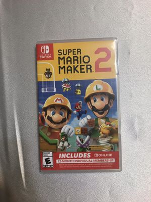 Super mario maker 2 Nintendo Switch for Sale in Duluth, GA