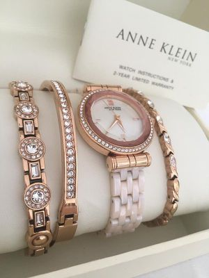 Anne Klein New York 12/2298RGST Rose for Sale in Plano, TX