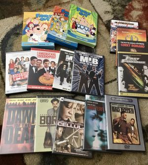 Movies & Season Set (15) for Sale in Chicago, IL