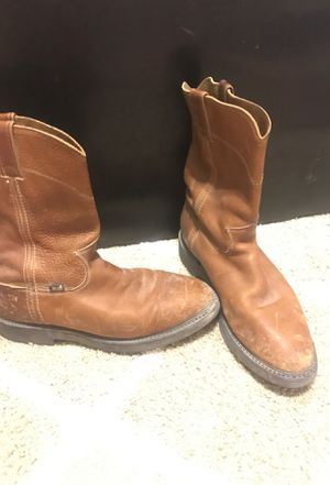 Justin boots 10.5 for Sale in Las Vegas, NV