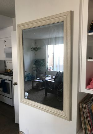 29inx42in wall mounted mirror for Sale in Huntington Beach, CA