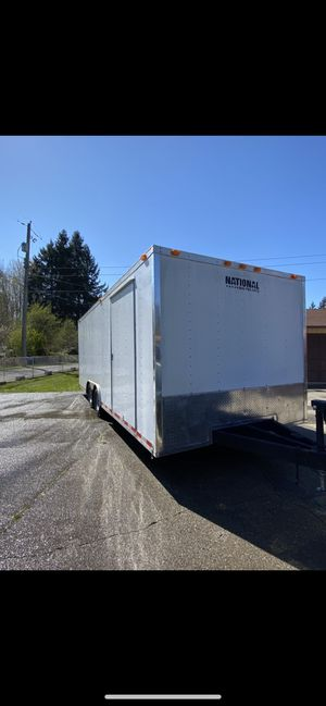 2002 20ft national cargo trailer for Sale in Tacoma, WA