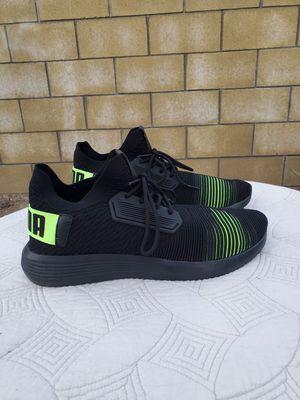 Men's puma shoes primeknit black size 13 volt for Sale in La Mirada, CA