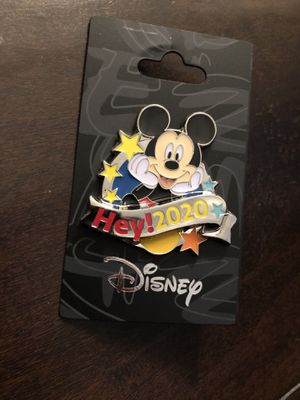 """Disney Pin, Mickey Mouse """"Hey! 2020"""" for Sale in Corona, CA"""