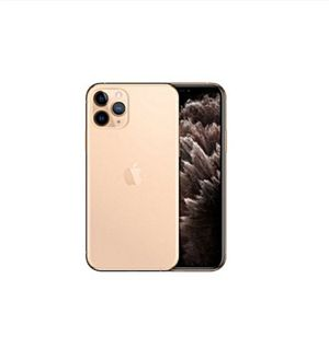 iPhone 11 Pro Max 6.5-inch Super Retina XDR OLED (4GB RAM, 64GB ROM),IOS 13, (12MP+12MP+12MP)+12MP 4G LTE Smartphone- Gold for Sale in Brooklyn, NY