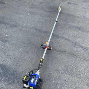 Blue Max 42.6cc 2 stroke 9ft Pole Saw with Extension for Sale in Ontario, CA