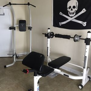 Bench Press Bed Pull Up Stand for Sale in Fort Lauderdale, FL