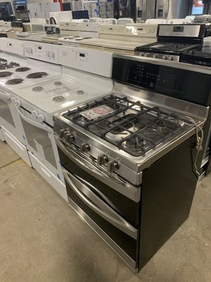 On Sale Kenmore Gas Stove Oven 5 Burner Stainless Steel #1322 for Sale in Huntington Station, NY
