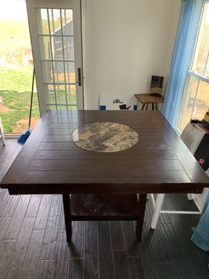 Table with lazy Susan for Sale in Ijamsville, MD