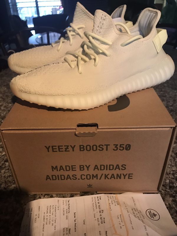 wholesale dealer de9bf 05a47 Adidas Yeezy 350 Boost v2 Butter Sz9 Come with box and receipt for Sale in  Miami, FL - OfferUp
