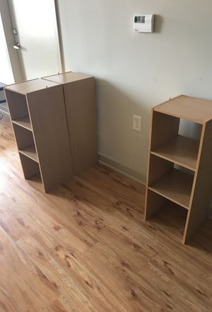 Wooden Shelves (MUST GO!!!) for Sale in Baltimore, MD