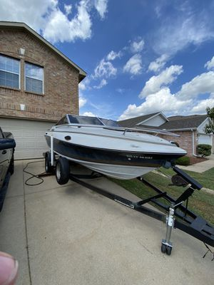 For sale boat white for Sale in Irving, TX