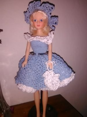 Hand made crochet knitting Barbie Doll dresses for Sale in Hayward, CA