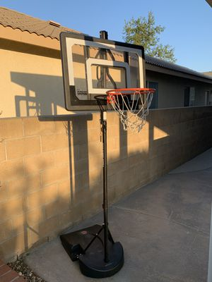 Portable basketball hoop for Sale in Fontana, CA