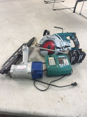 Power Saw and Nail Gun for Sale in Riverton, UT