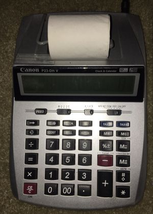 Canon P23-DH V Printing Calculator for Sale in Beaverton, OR