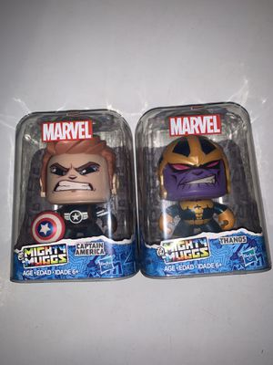 Marvel Mighty Muggs Thanos Captain America Hasbro NEW for Sale in Miami, FL