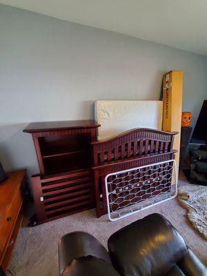 Baby Italia crib, dresser, bookstand for Sale in Monroe, WA