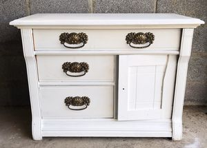 3 Drawer Cabinet - Antique Oak for Sale in New Canaan, CT