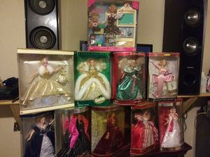 Barbies Collectors/Holiday Editions for Sale in Arlington, TX