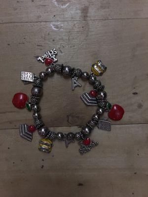 Teacher Charm Bracelet for Sale in San Francisco, CA
