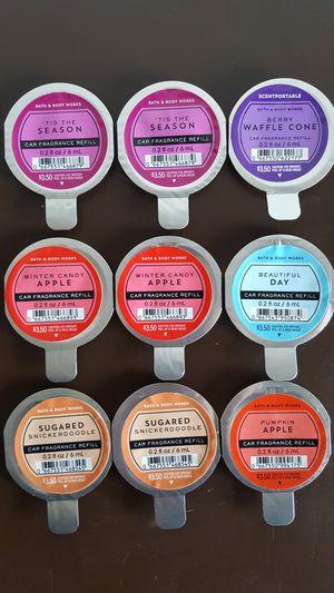 Bath & Body Works Car Fragrance Refills (Multiple Scents) for Sale in Etiwanda, CA
