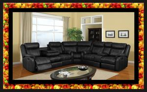 C shaped sectional new recliners. With free shipping for Sale in Washington, DC