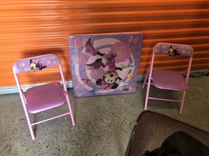 Kids table and chairs for Sale in Pikesville, MD
