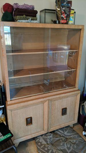 Glass Display Bookshelf for Sale in Oakland Park, FL