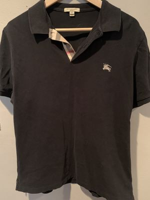 Burberry Brit (extra large) men's black short sleeve polo for Sale in San Diego, CA