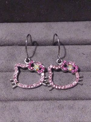 Hello Kitty Drop Earrings for Sale in North Richland Hills, TX