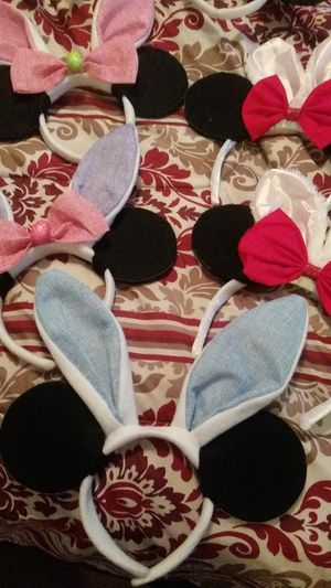 Easter bunny mickey ears. for Sale in Norwalk, CA