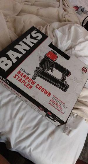 Banks nail gun ...n for Sale in San Antonio, TX