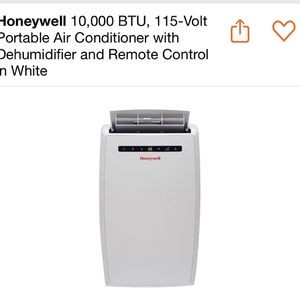Honeywell 10,000 BTU, 115-Volt Portable Air Conditioner with Dehumidifier. for Sale in Las Vegas, NV