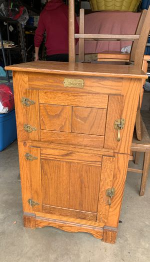 Antique ice box style cabinet for Sale in West Covina, CA